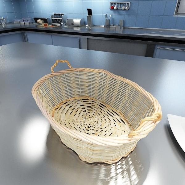 3D Model Fruits & Basket Collection ( 91.37KB jpg by VKModels )