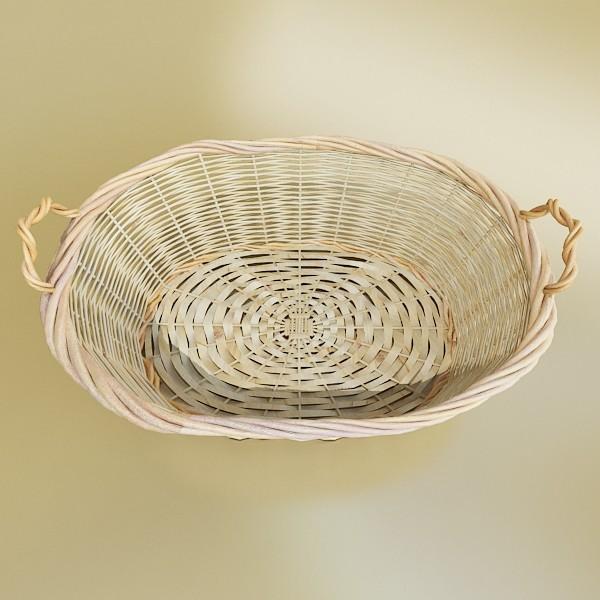 3D Model Fruits & Basket Collection ( 70.88KB jpg by VKModels )