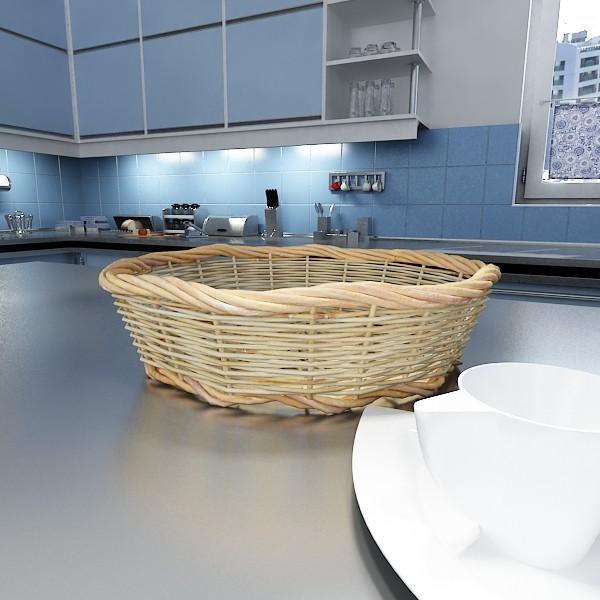 3D Model Fruits & Basket Collection ( 71.23KB jpg by VKModels )