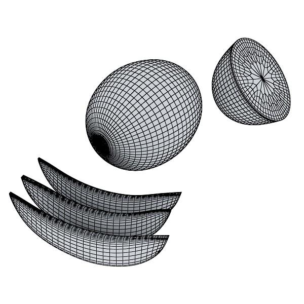 3D Model Melon High Res Textures ( 76.71KB jpg by VKModels )