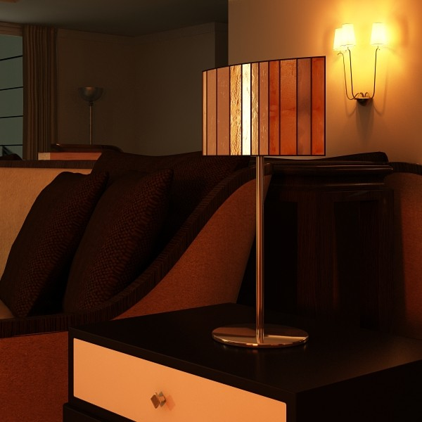 43 lamps mega pack 3d model 3ds max fbx obj 135644