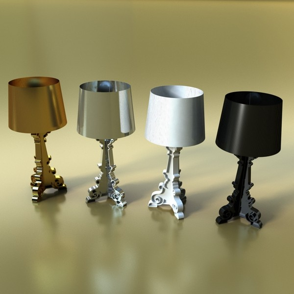 43 lamps mega pack 3d model 3ds max fbx obj 135654