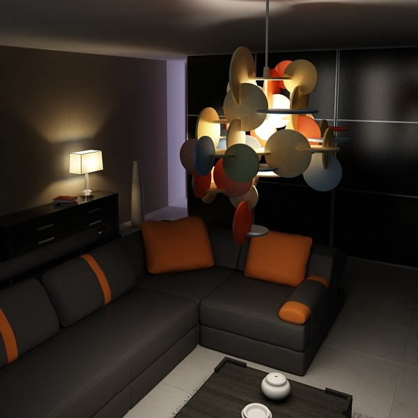 43 lamps mega pack 3d model 3ds max fbx obj 135745