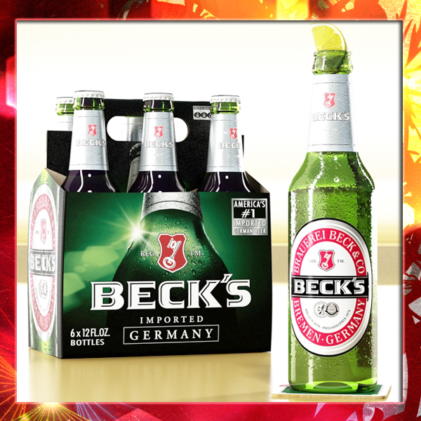 becks 6 bottles cardboard pack 3d model 3ds max fbx obj 142386