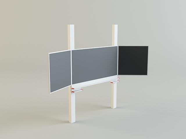 crna ploča 3d model 3ds max obj 139183