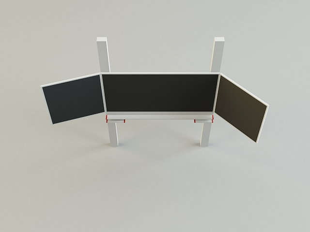 black board 3d model 3ds max obj 139185