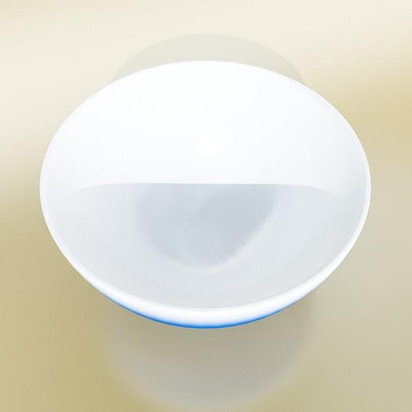 blue bowl 13 3d model 3ds max fbx obj 133102