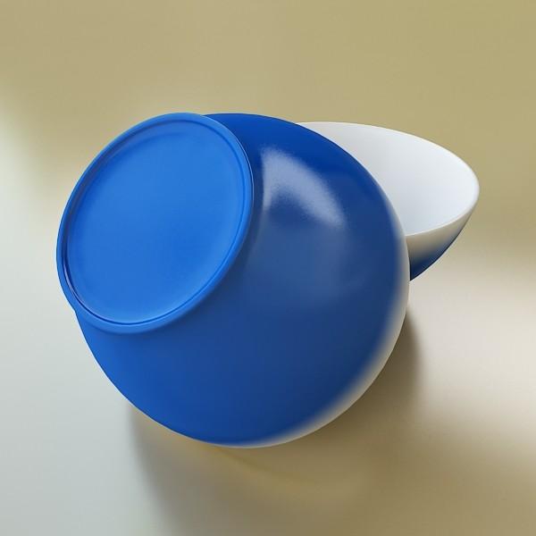 blue bowl 13 3d model 3ds max fbx obj 133106