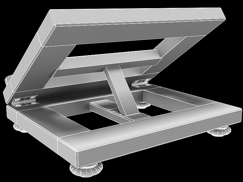 book on lectern 3d model max 147808