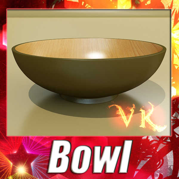 bowl 12 3d model 3ds max fbx obj 133089