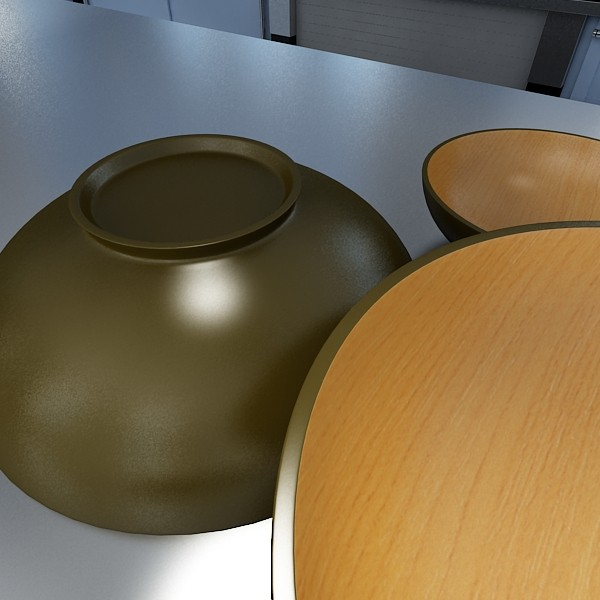 bowl 12 3d model 3ds max fbx obj 133091