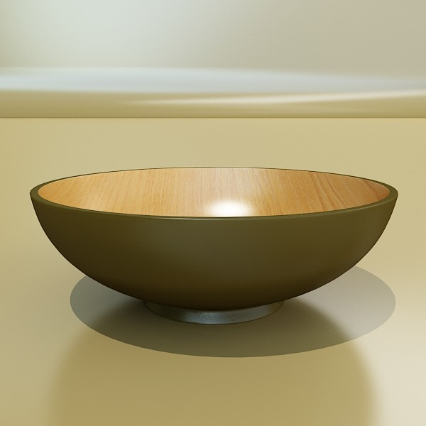 bowl 12 3d model 3ds max fbx obj 133092