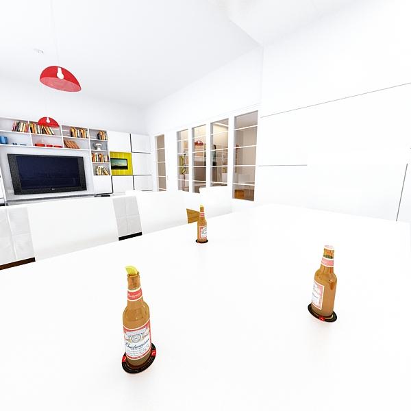 budweiser beer bottle – six cardboard pack 3d model 3ds max fbx obj 142148