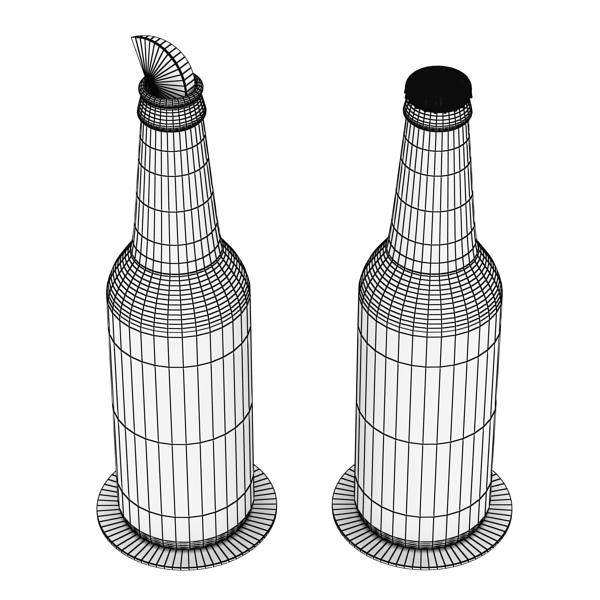 budweiser pivə kolleksiyası. 3d model 3ds max fbx obj 142194