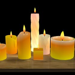 Candles & flames ( 109.4KB jpg by marbelar )