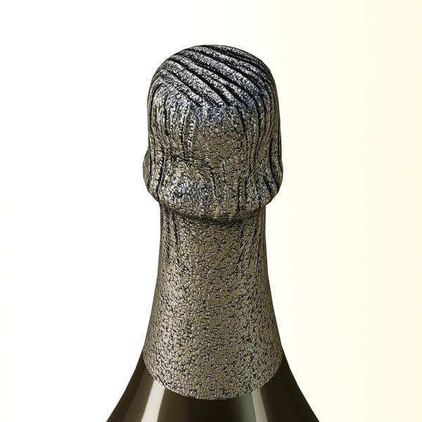 champagne set 3 – bottle, flute and ice bucket 3d model 3ds max fbx obj 144567