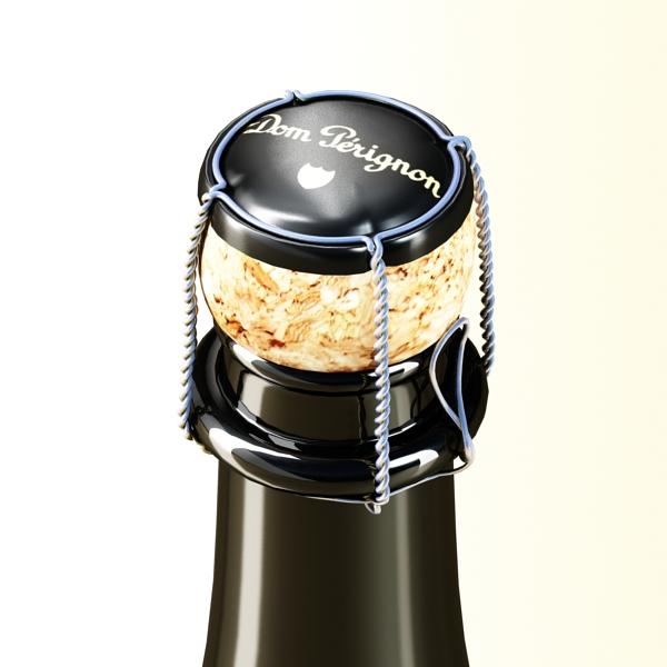 champagne set 3 – bottle, flute and ice bucket 3d model 3ds max fbx obj 144568