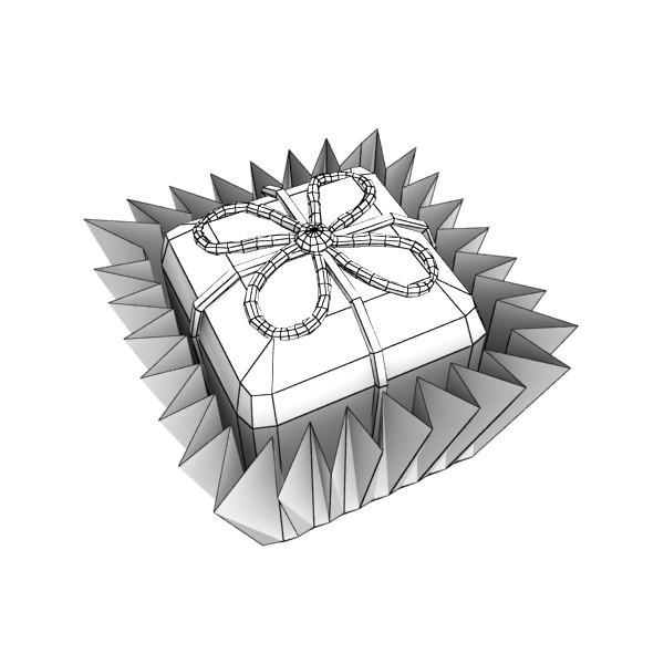šokolādes konfektes sortiments augstas res 3d modelis max obj 132456