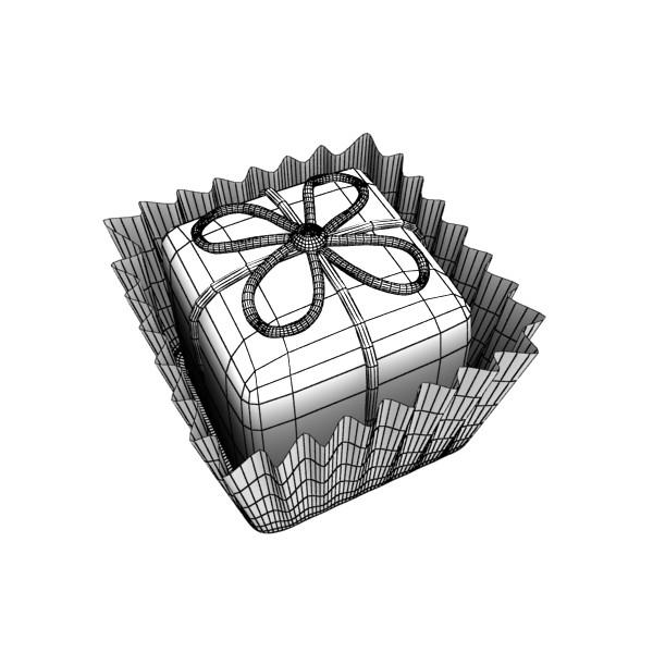 šokolādes konfektes sortiments augstas res 3d modelis max obj 132457
