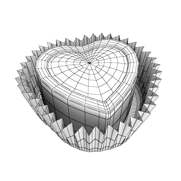 šokolādes konfektes sortiments augstas res 3d modelis max obj 132464