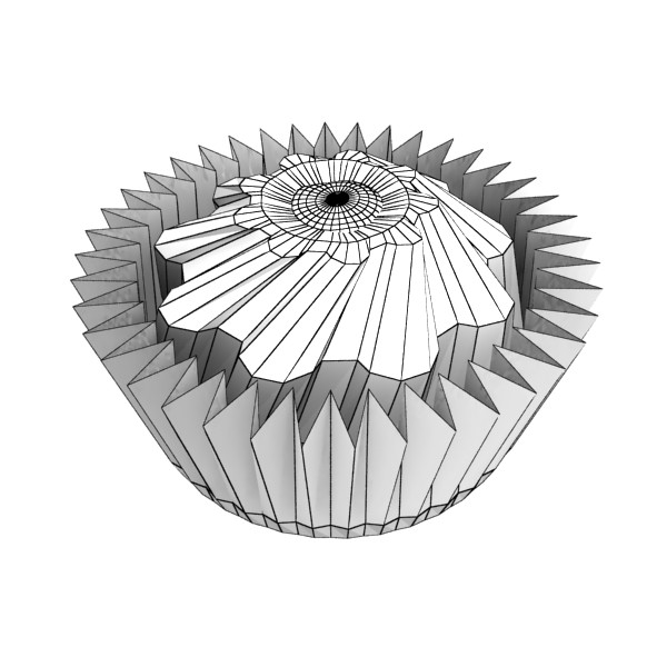 šokolādes konfektes sortiments augstas res 3d modelis max obj 132472
