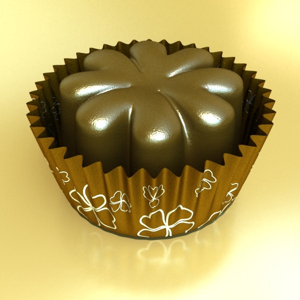 šokolādes konfektes sortiments augstas res 3d modelis max obj 132487