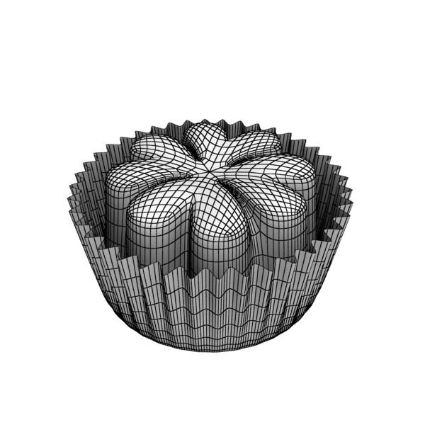 šokolādes konfektes sortiments augstas res 3d modelis max obj 132492