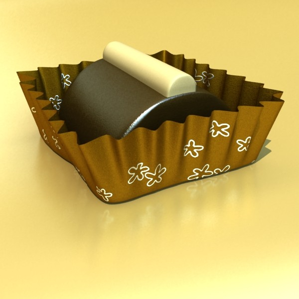 šokolādes konfektes sortiments augstas res 3d modelis max obj 132495