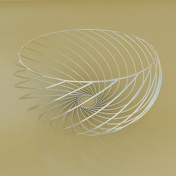 decorative bowl 02 3d model 3ds max fbx obj 132655
