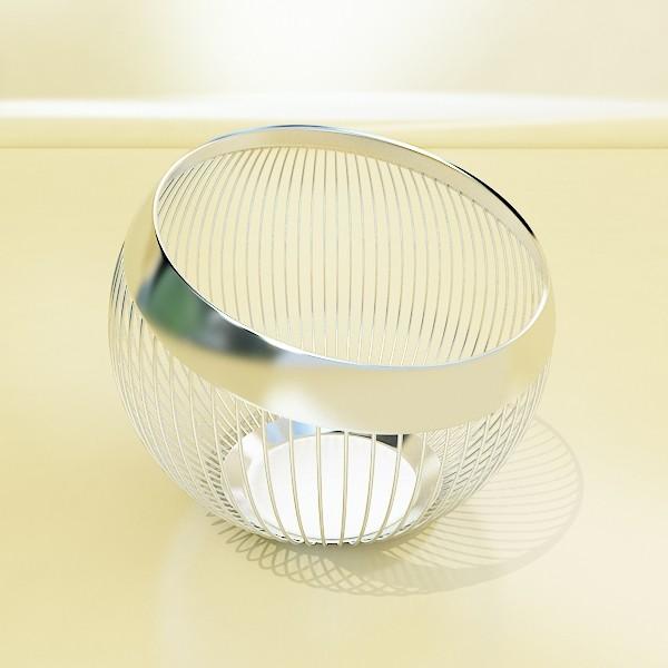 decorative bowl 3d model 3ds max fbx obj 132674