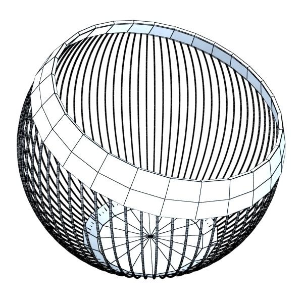 decorative bowl 3d model 3ds max fbx obj 132678