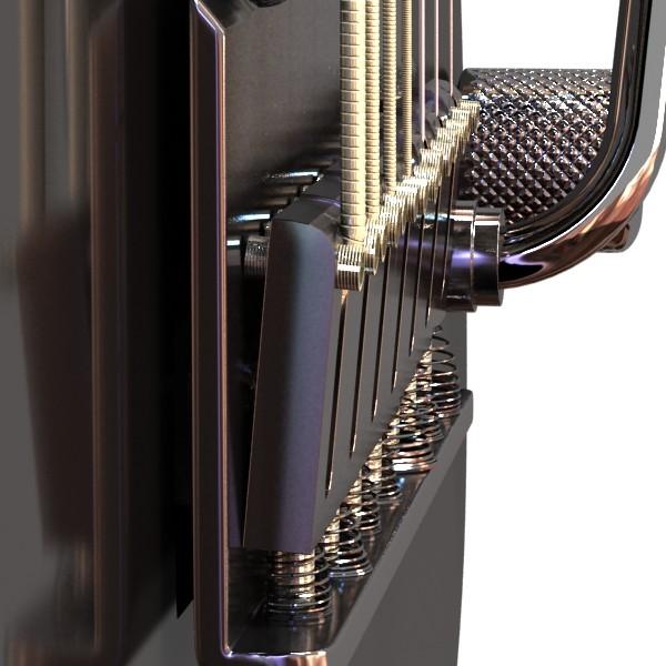 giotár leictreach 7 teaghráin mion-mhionsonraithe 3d model max obj 131265