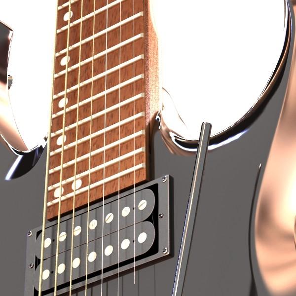 цахилгаан гитар 7 мөр өндөр нарийвчлалтай 3d загвар max obj 131267