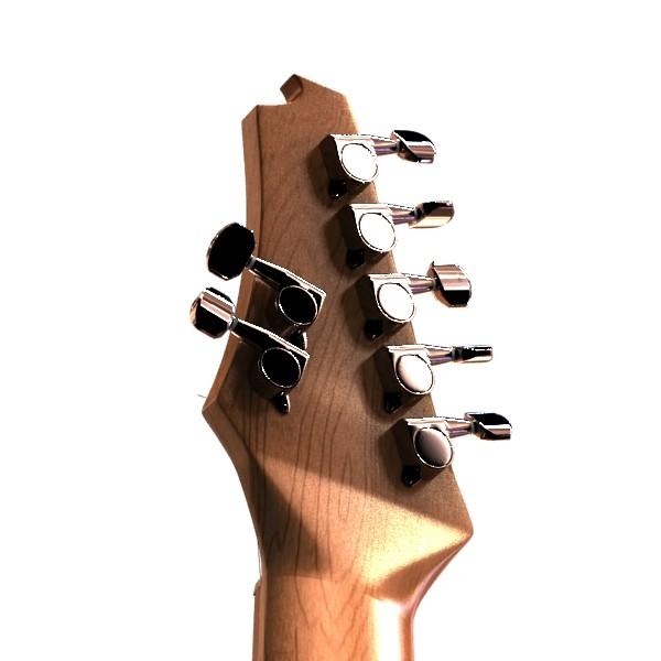цахилгаан гитар 7 мөр өндөр нарийвчлалтай 3d загвар max obj 131271