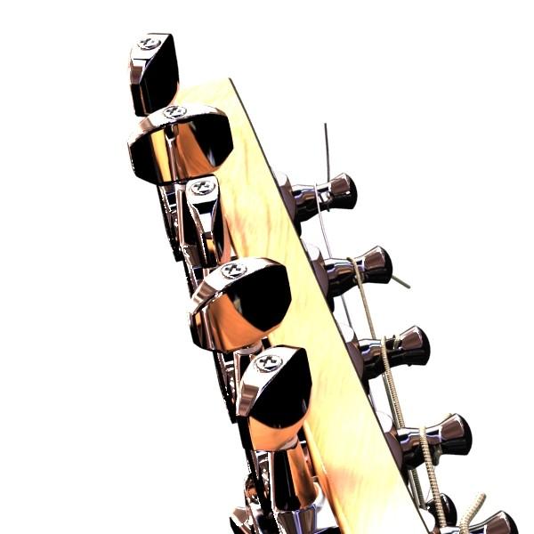 цахилгаан гитар 7 мөр өндөр нарийвчлалтай 3d загвар max obj 131272