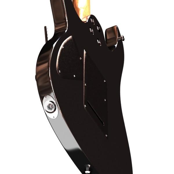 giotár leictreach 7 teaghráin mion-mhionsonraithe 3d model max obj 131275