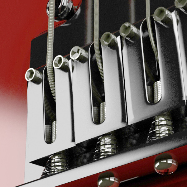 цахилгаан гитар өндөр нарийвчлалтай 3d загвар max fbx obj 131223