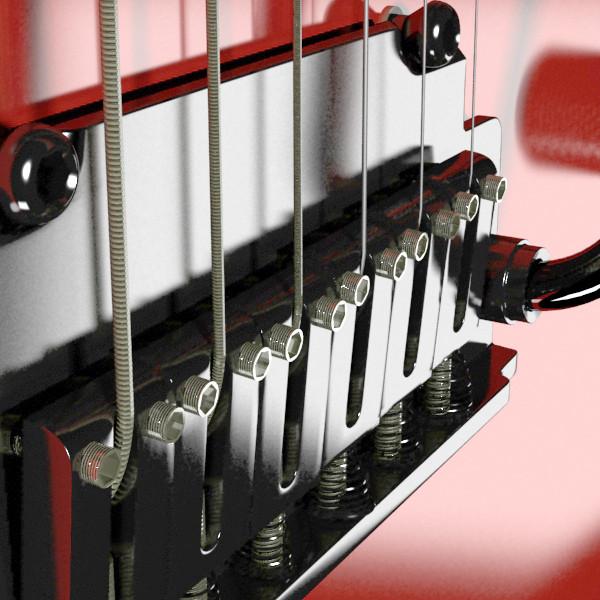 цахилгаан гитар өндөр нарийвчлалтай 3d загвар max fbx obj 131224