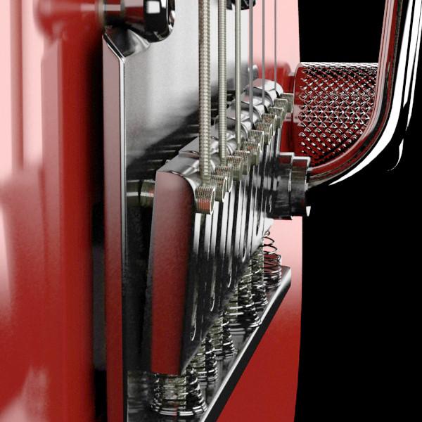 цахилгаан гитар өндөр нарийвчлалтай 3d загвар max fbx obj 131225
