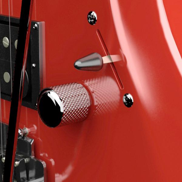 цахилгаан гитар өндөр нарийвчлалтай 3d загвар max fbx obj 131227