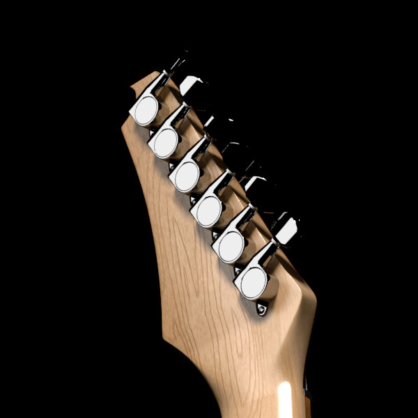 цахилгаан гитар өндөр нарийвчлалтай 3d загвар max fbx obj 131234