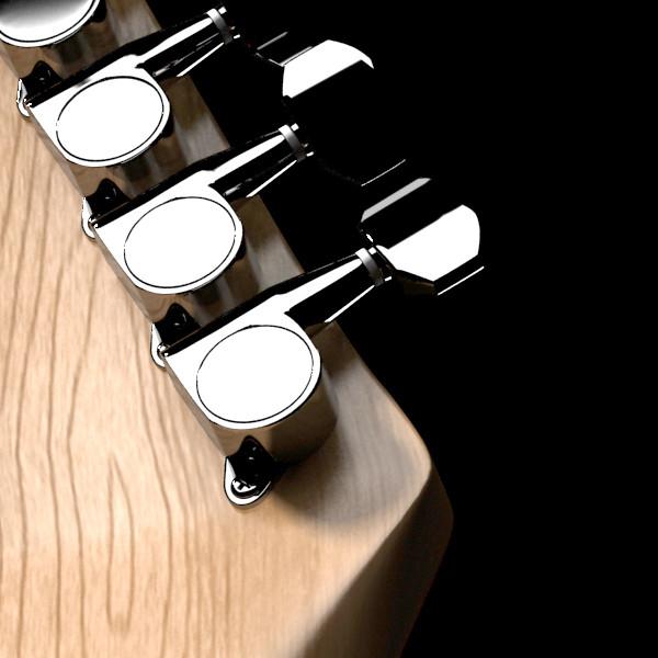 цахилгаан гитар өндөр нарийвчлалтай 3d загвар max fbx obj 131235