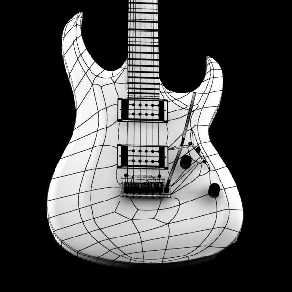 цахилгаан гитар өндөр нарийвчлалтай 3d загвар max fbx obj 131248