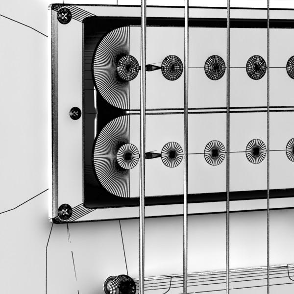 цахилгаан гитар өндөр нарийвчлалтай 3d загвар max fbx obj 131250