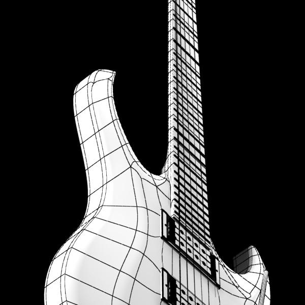 цахилгаан гитар өндөр нарийвчлалтай 3d загвар max fbx obj 131252