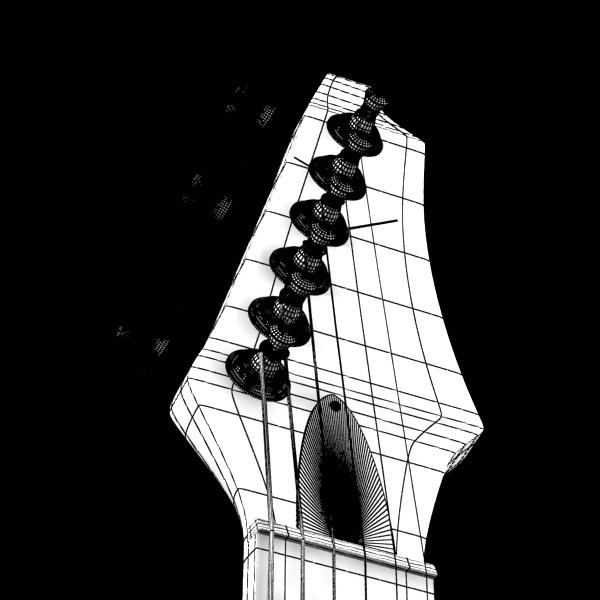 цахилгаан гитар өндөр нарийвчлалтай 3d загвар max fbx obj 131255