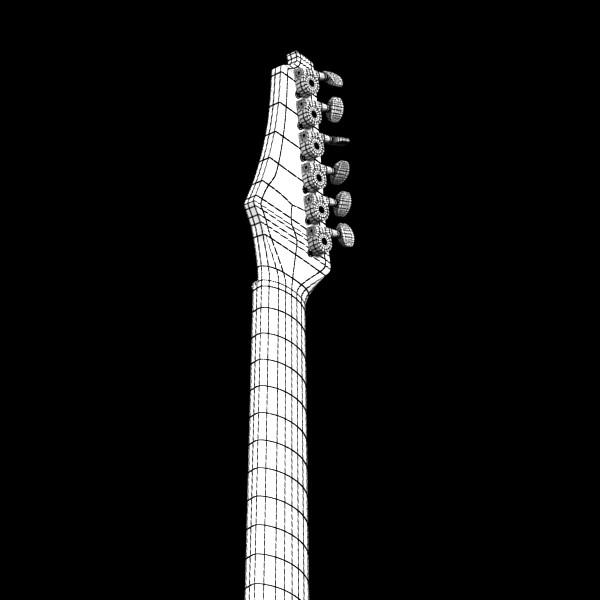 цахилгаан гитар өндөр нарийвчлалтай 3d загвар max fbx obj 131259