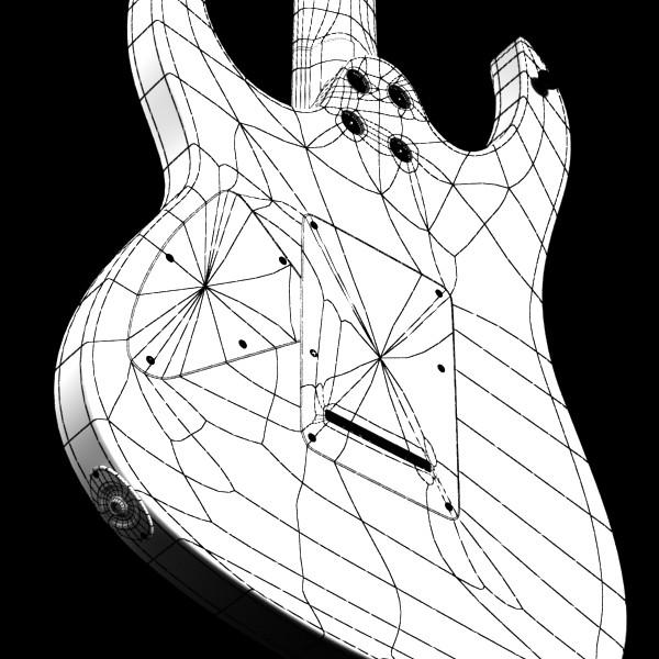 цахилгаан гитар өндөр нарийвчлалтай 3d загвар max fbx obj 131260