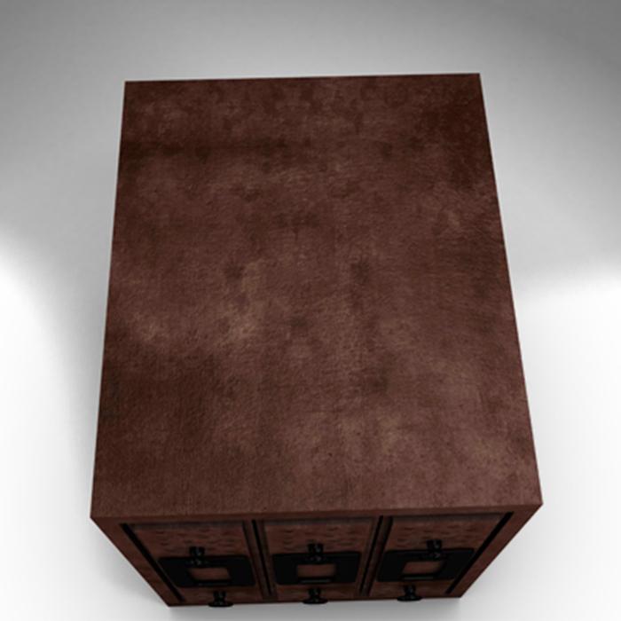filing cabinet 3d model 3ds max fbx ma mb obj 155521