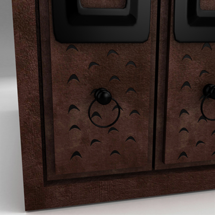 filing cabinet 3d model 3ds max fbx ma mb obj 155523